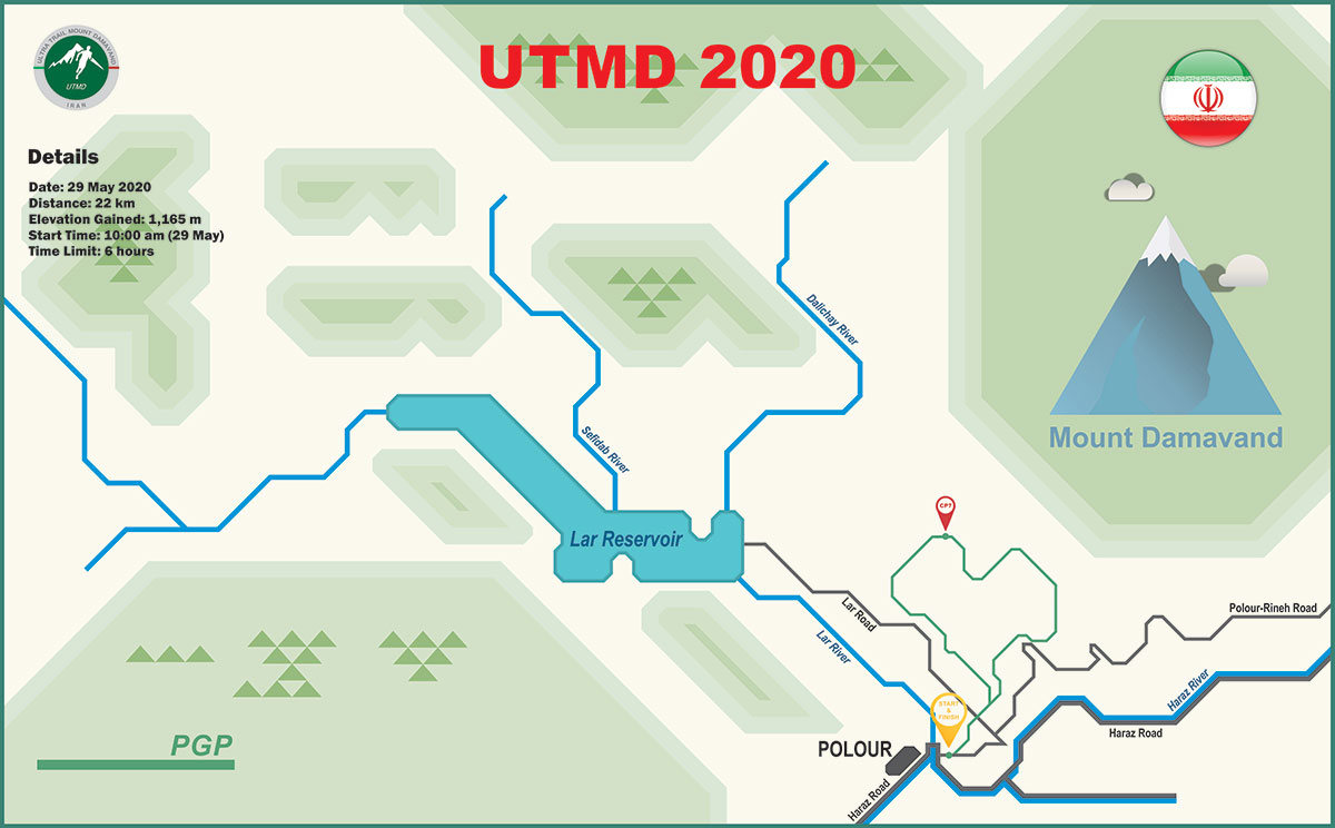 UTMD 2020 Course Map PGP