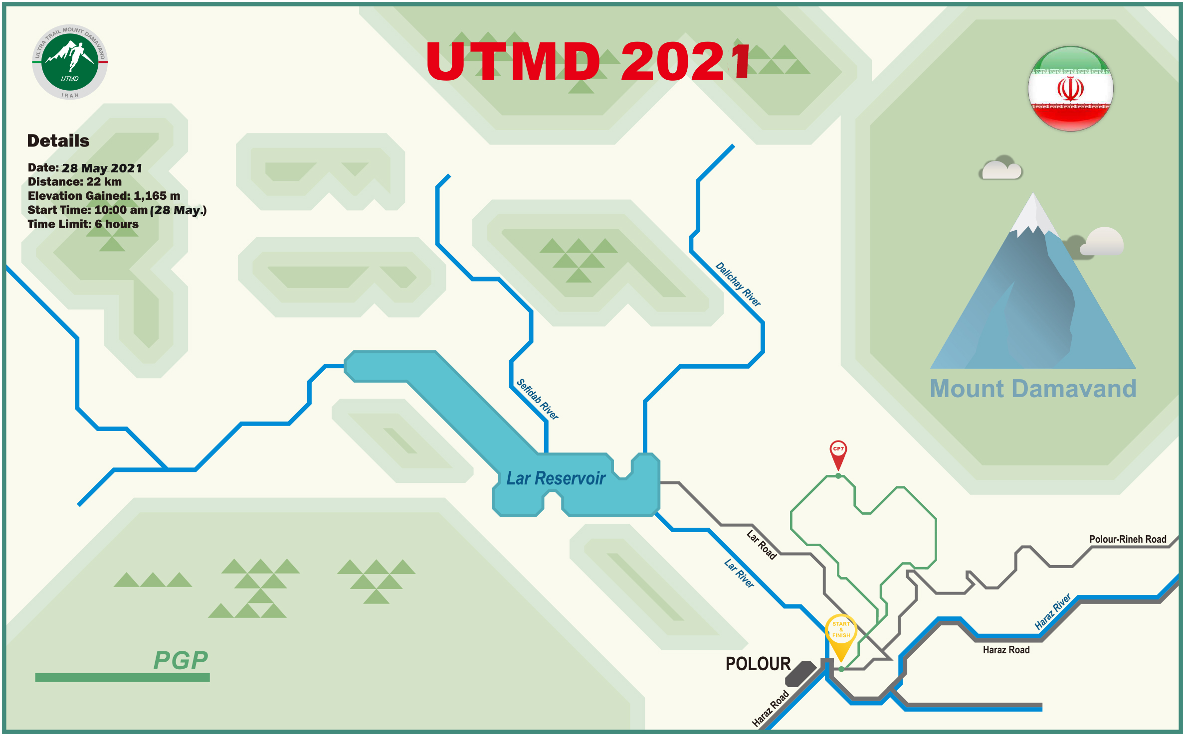 PGP 2021 Course Map PGP